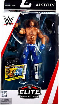 AJ Styles WWE Wrestling Elite Collection Series 56 Action Figure