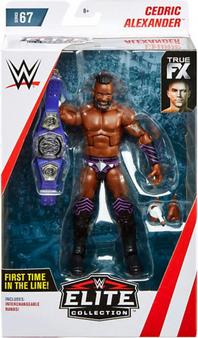 Cedric Alexander WWE Wrestling Elite Collection Series 67 Action Figure