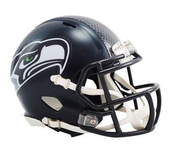 Seattle Seahawks Riddell NFL Mini Revo Speed Helmet