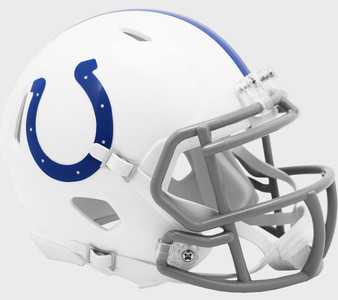 Indianapolis Colts Riddell NFL Mini Revo Speed Helmet