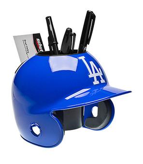 Los Angeles Dodgers Desk Caddy MLB Mini Batting Helmet