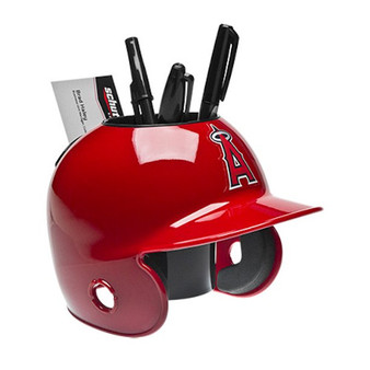 Los Angeles Angels Desk Caddy MLB Mini Batting Helmet