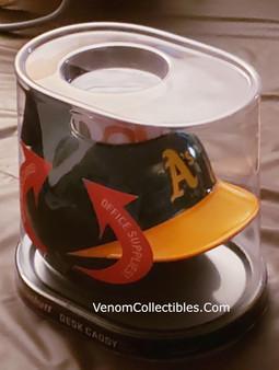 Oakland Athletics Retro Desk Caddy MLB Mini Batting Helmet