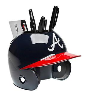 Atlanta Braves Desk Caddy MLB Mini Batting Helmet