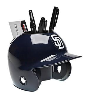 San Diego Padres Desk Caddy MLB Mini Batting Helmet
