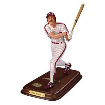 Mike Schmidt Danbury Mint Philadelphia Phillies Player Figurine