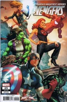 Marvel Comics Avengers #25 (2018) Mary Jane Variant Cover