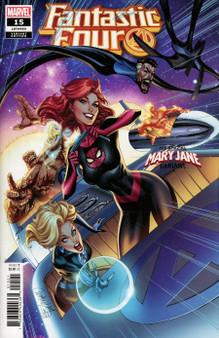 Marvel Comics Fantastic Four #15 (2018) Mary Jane Variant Cover