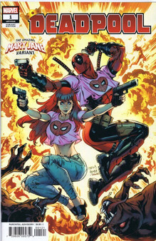 Marvel Comics Deadpool #1 (2018) Mary Jane Variant Cover