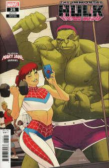 Marvel Comics The Immortal Hulk #25 (2018) Mary Jane Variant Cover
