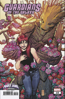Marvel Comics Guardians of the Galaxy #10 (2019) Mary Jane Variant Cover