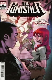 Marvel Comics The Punisher #16 (2018) Mary Jane Variant Cover