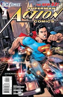 DC New 52 Superman Action Comics #1 (2011) First Print