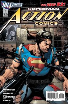DC New 52 Superman Action Comics #2 (2011) First Print