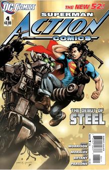 DC New 52 Superman Action Comics #4 (2011) First Print