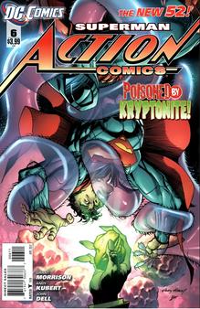 DC New 52 Superman Action Comics #6 (2011) First Print