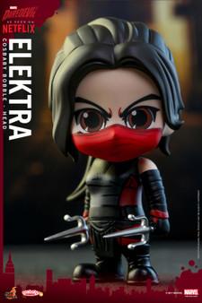 "Hot Toys Elektra ""Marvel's Daredevil"" COSB350 Cosbaby (S) Bobble-Head"