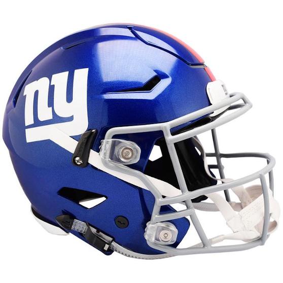 New York Giants Riddell NFL Riddell Full Size Authentic Speed Flex Helmet