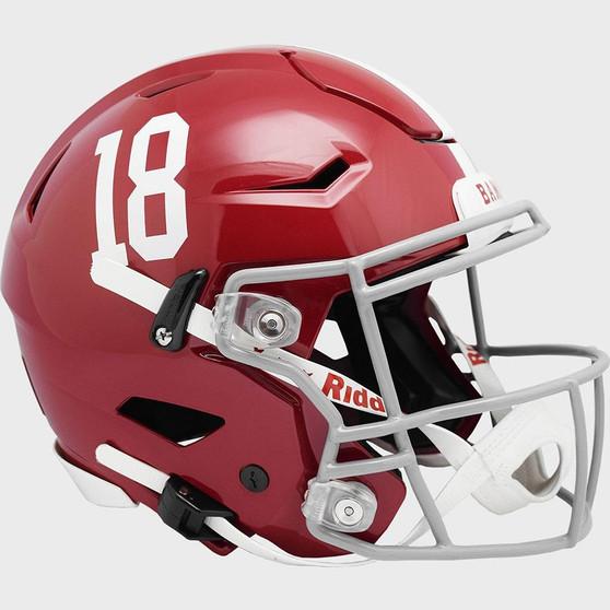 Alabama Crimson Tide Riddell NCAA Riddell Full Size Authentic Speed Flex Helmet