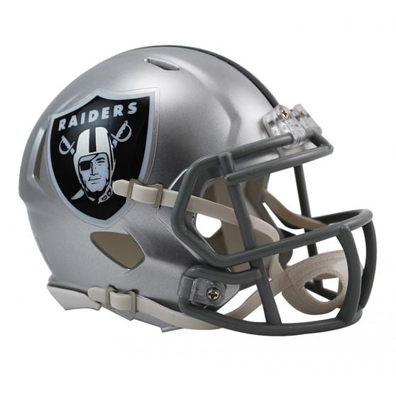 Las Vegas Raiders Riddell NFL Mini Revo Speed Helmet