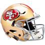 San Francisco 49ers Riddell NFL Riddell Full Size Authentic Speed Flex Helmet