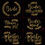 Laurel Gold Wedding Pack Iron On Rhinestud Transfer - Set of 9 Designs