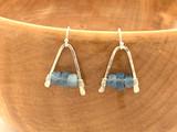 Braziliain Aquamarine Earrings