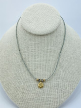 Labradorite with Turkish Coin Necklace