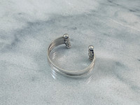 Sterling Silver Multiband Bracelet