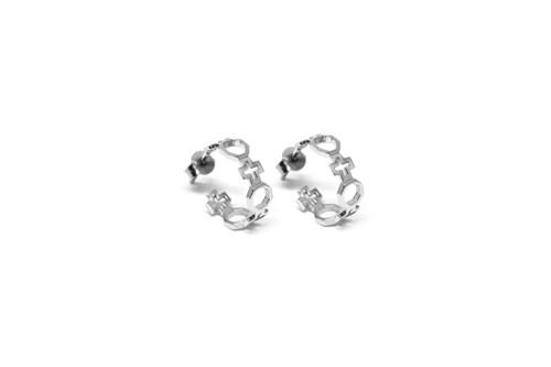 Contemporary Hoop Earrings