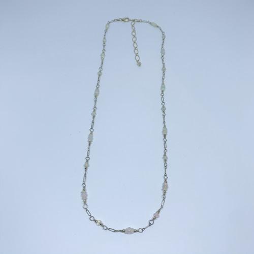 14K Gold Filled Ethiopian Opal Necklace