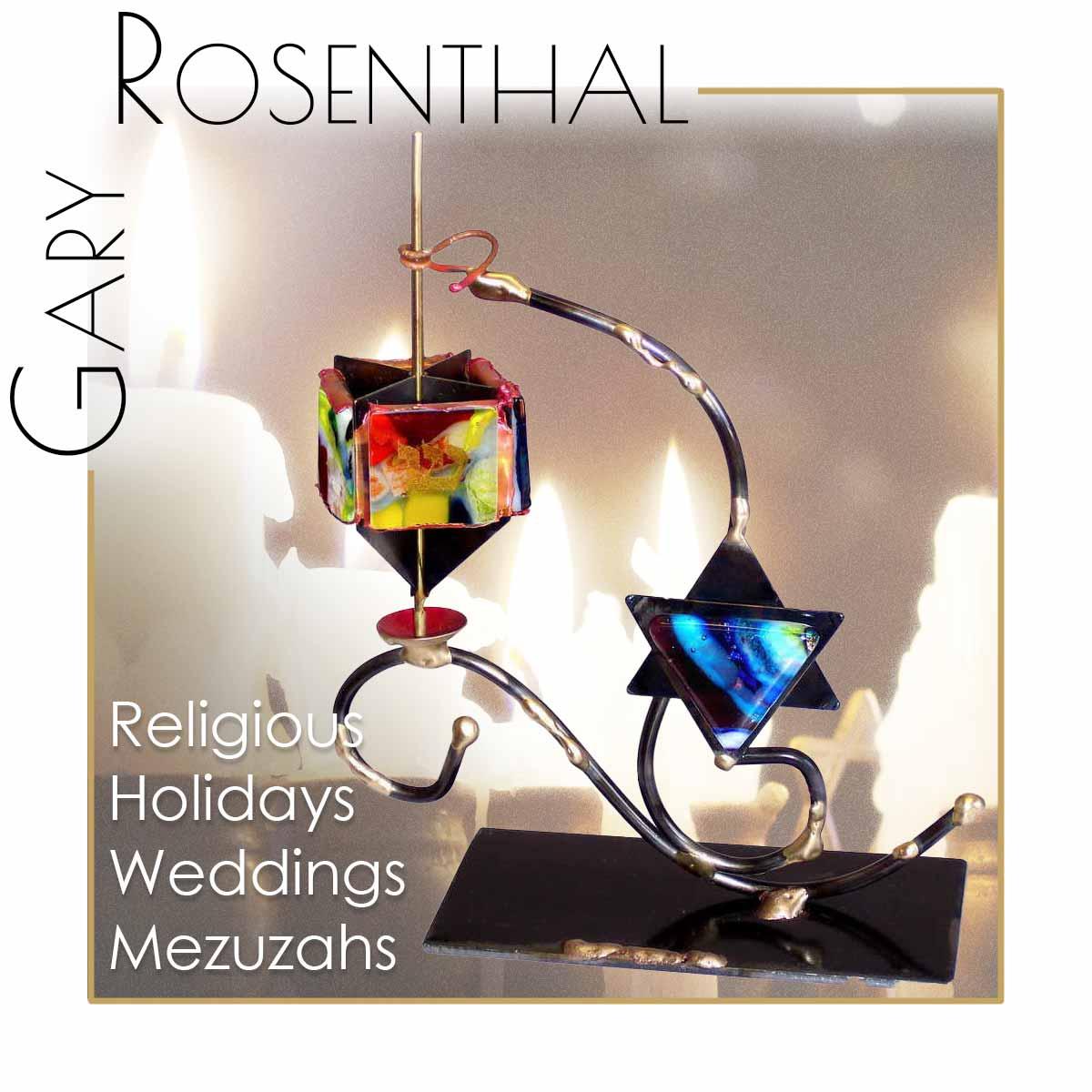 Gary Rosenthal Sculptural Jewish Art