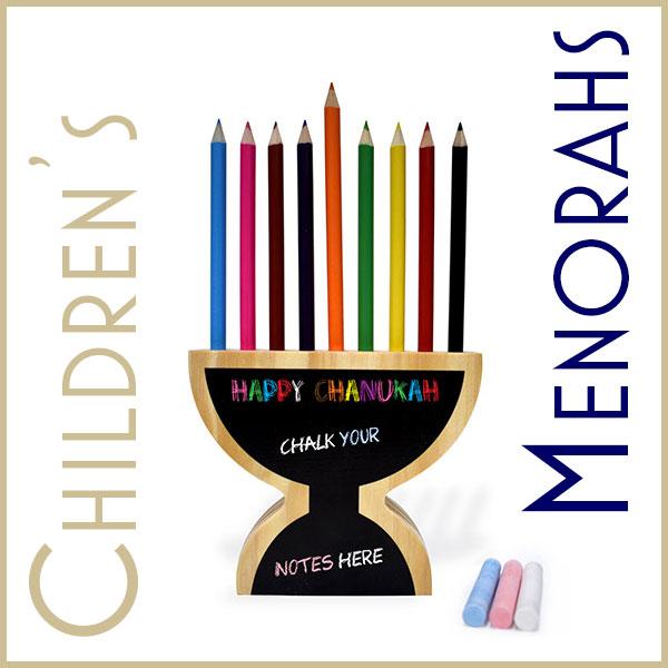 Children's Menorahs