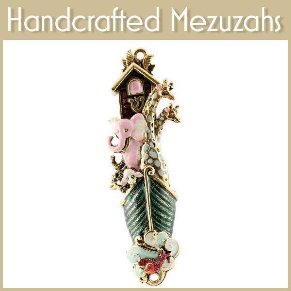 Handcrafted Mezuzahs