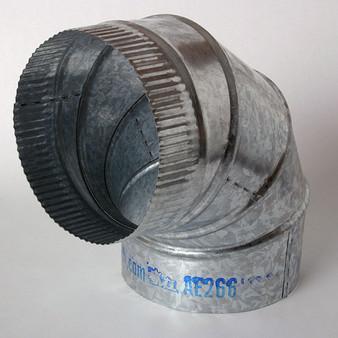 "5"" Metal Adj Ell ELLM05-90-26GA"