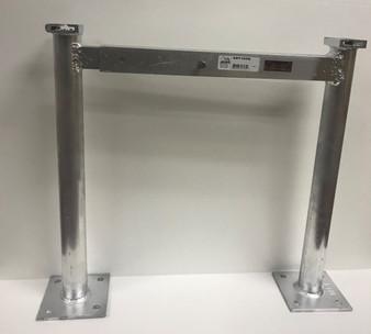 F & L Aluminum -  Cond Stand Leg 48In