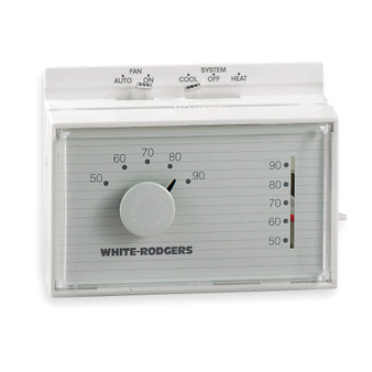 Thermostat Hor. White Rodger 1F56W-444-WHI