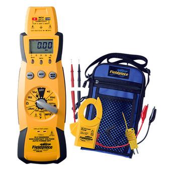 Meter W/Capacitance/Ac/Dc HS35