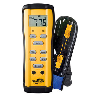 Dual Temp Meter W/Thermocoup ST4