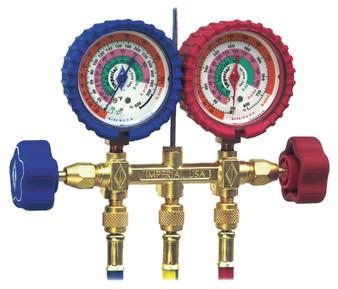 Manifold R22/R-410 & R-404 421-C