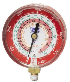 Gauge 80Mm Red 410/22 49137