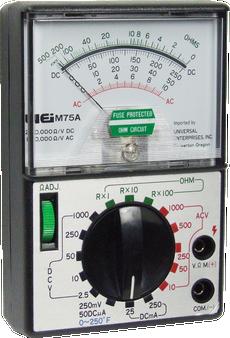 Tester W Carr-Case M75A