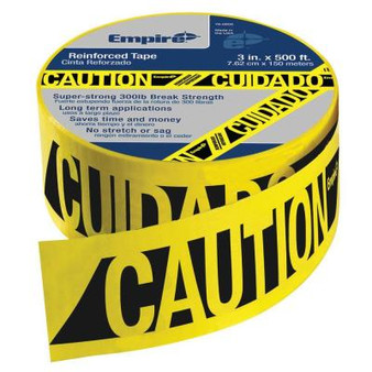 Empire - 500' Reinforced Caution Tape