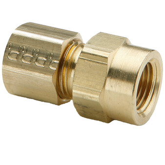 "Parker Hannifin - 3/8""x 3/8"" Compression Fitting - COMAD3/8T3/8FPT"