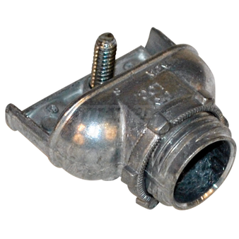 "Mars - 1/2"" Arm/Flex 90 Deg. Connector - Bulk"