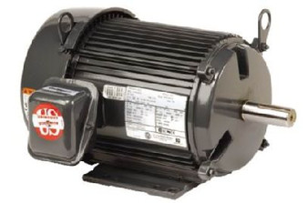 US Motors - UN12V3BC Definite Purpose Motor: 1/2HP 2400RPM 460V