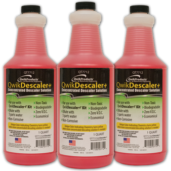 QwikDescaler: 1 quart lime, rust, scale remover
