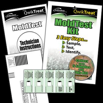 QwikTreatTM Mold Test Kit