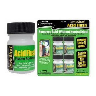 QwikShot Acid Flush, 4 Treatments
