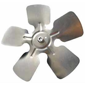 """Fan Blades 8"""" Cw Alum 1/4""""Bo"""